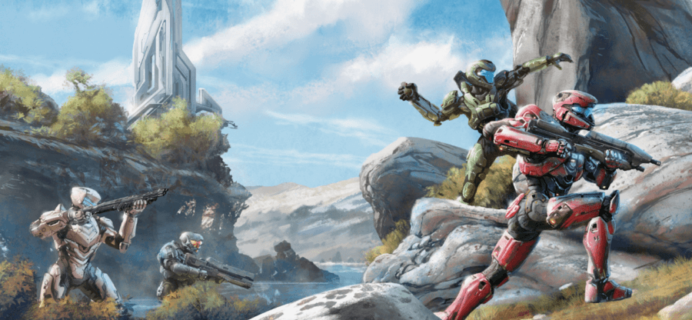 Loot Crate Halo Legendary Crate August 2016 FULL Spoilers