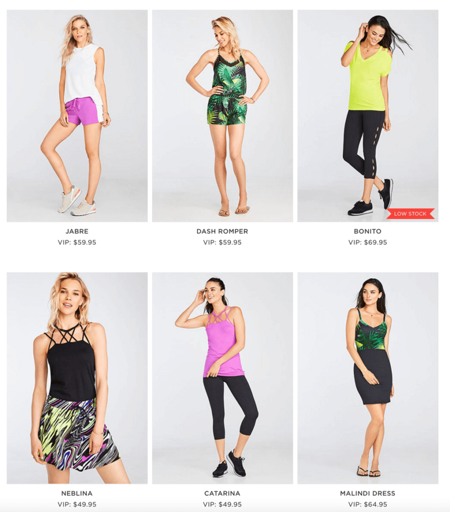 July 2016 Fabletics Selection Time! + First Outfit $15