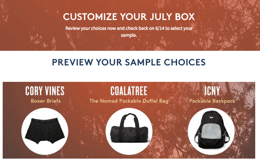 July 2016 Birchbox Man Spoilers & Coupon – Sample Choice, Power Play Items