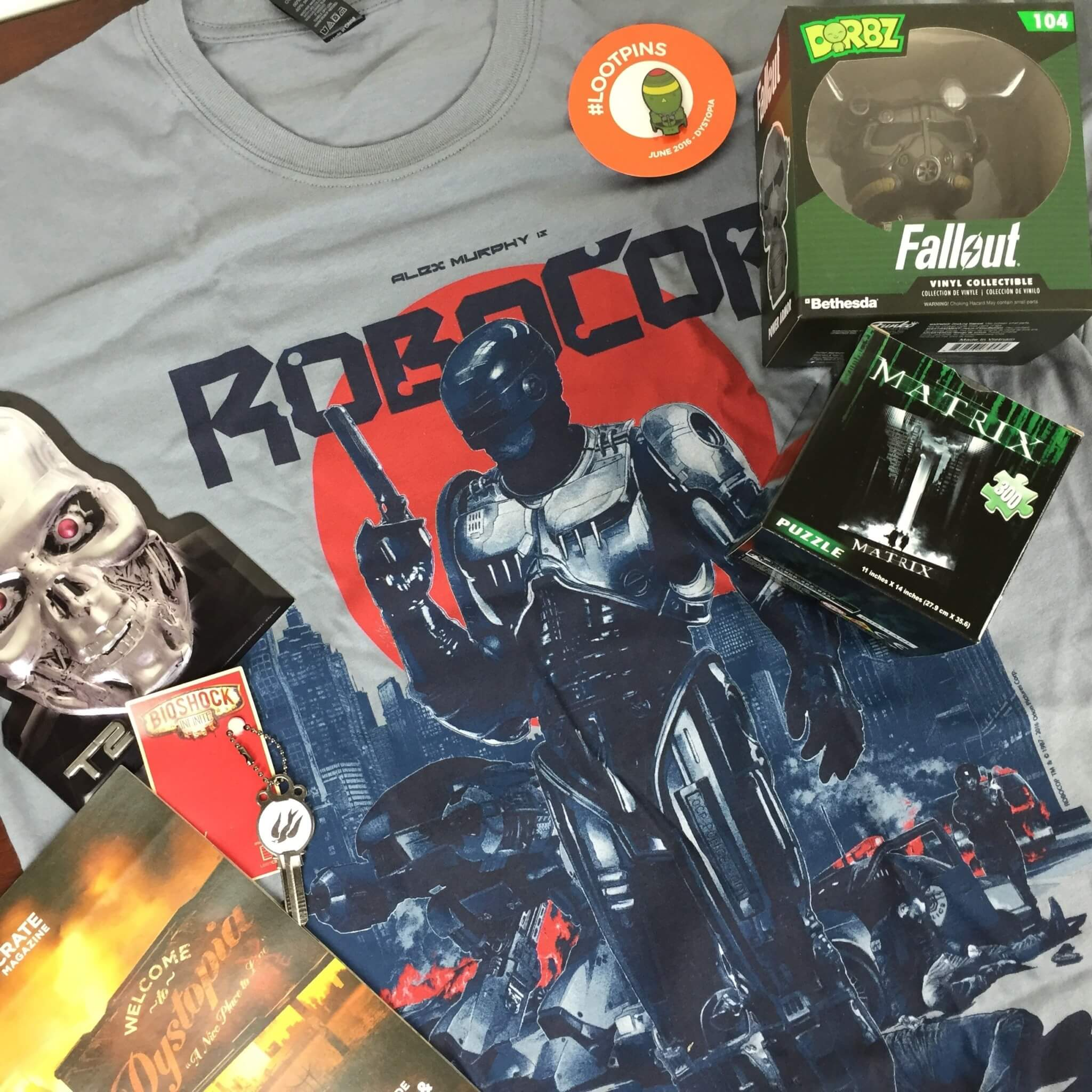 Loot Crate June 2016 Review + Coupons – DYSTOPIA