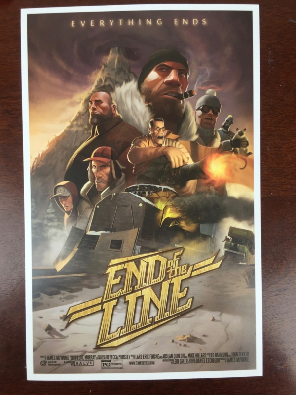 loot gaming june 2016 end of the line print