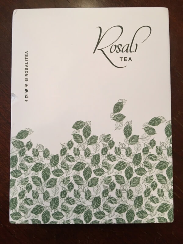 Rosali Tea June 2016 Subscription Box Review + Coupon