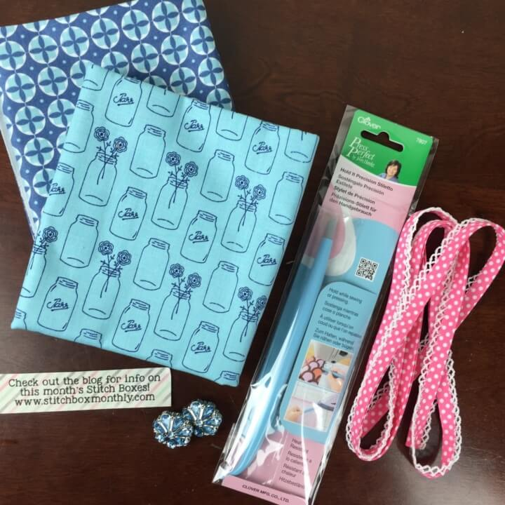 Stitch Box May 2016 review