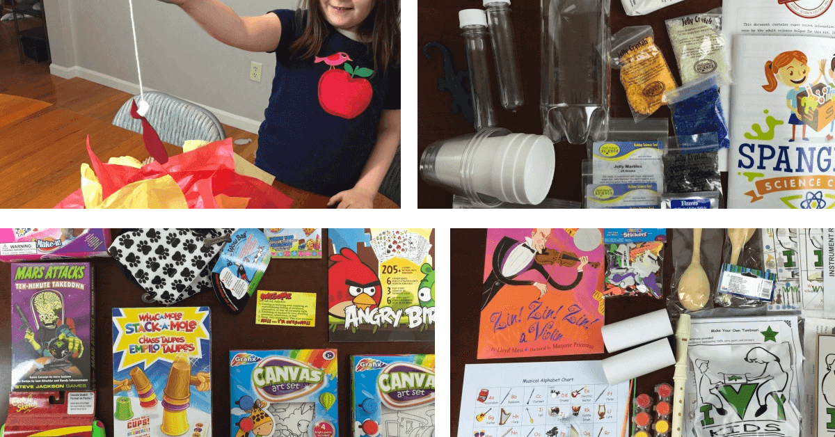 subscription boxes kids summer vacation