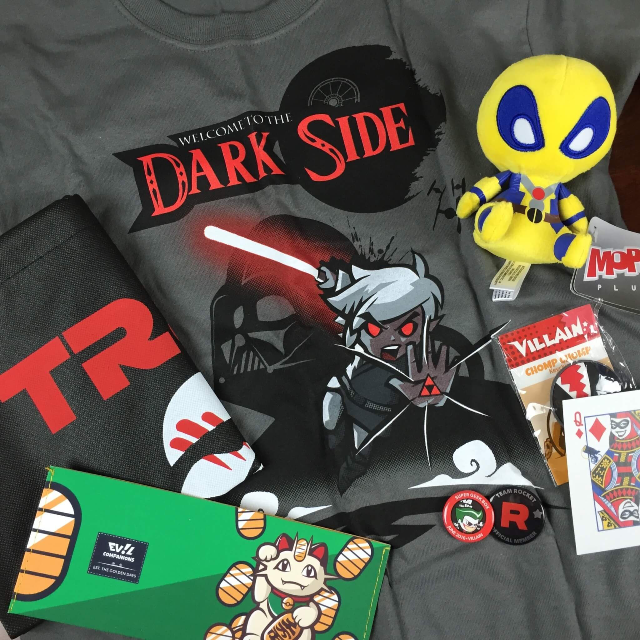 super geek box june 2016 full spoilers