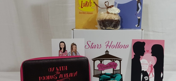 Stars Hollow Monthly June 2016 Subscription Box Review