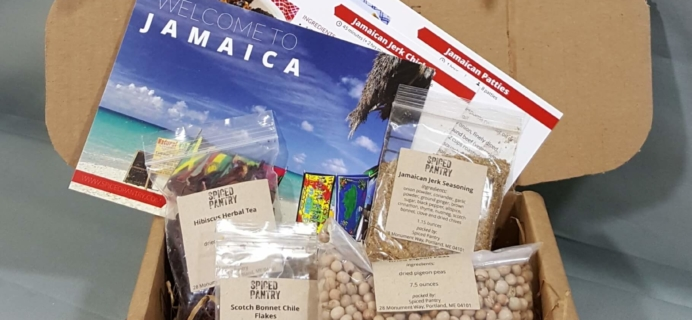 "Spiced Pantry June 2016 Subscription Box Review – ""Jamaica"""