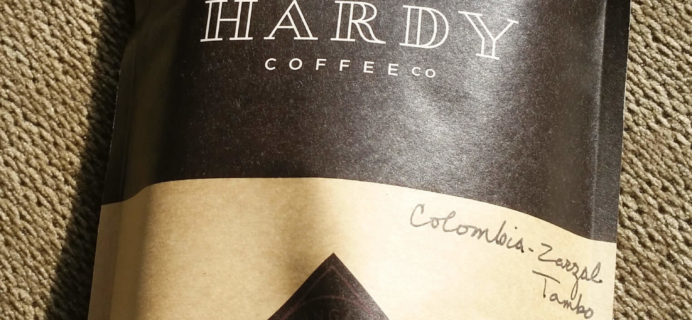 Hardy Coffee Co. Subscription Box Review – July 2016