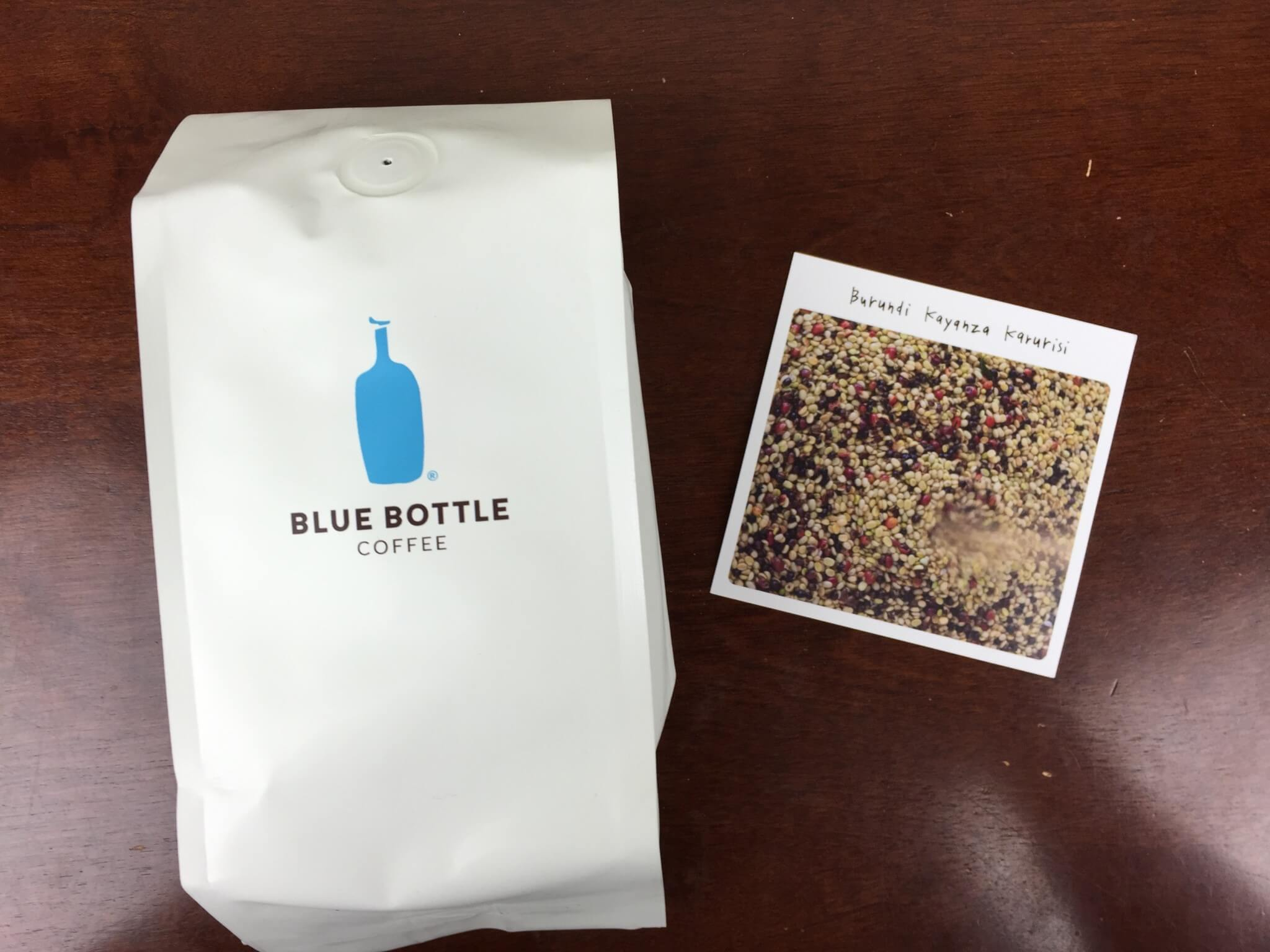 Blue Bottle Coffee Box June 2016 review