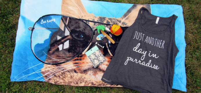 Cat Lady Box July 2016 Subscription Box Review