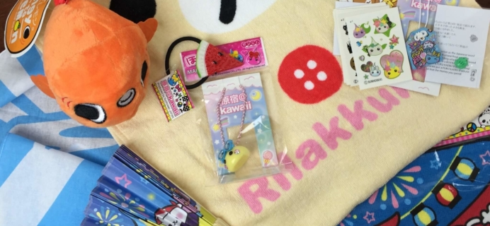 Doki Doki July 2016 Subscription Box Review & Coupon
