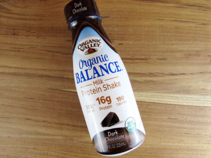 Organic Valley Organic Balance Milk Protein Shake in Dark Chocolate