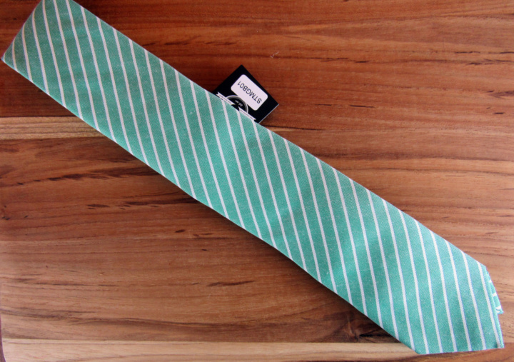 Something Strong Striped Tie