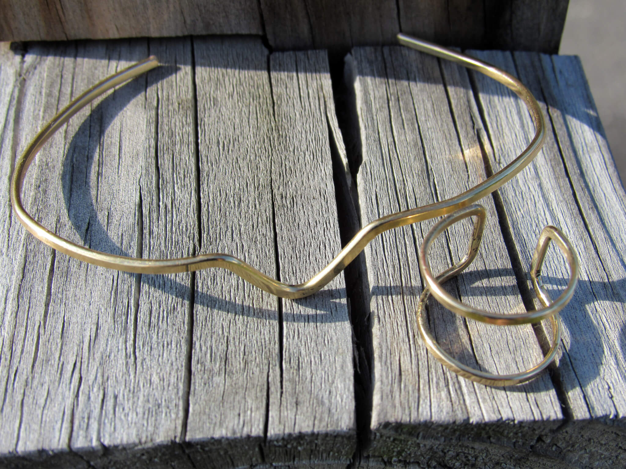 Wave Cuff and Duo Ring