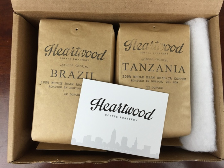 Heartwood Club June 2016 unboxing
