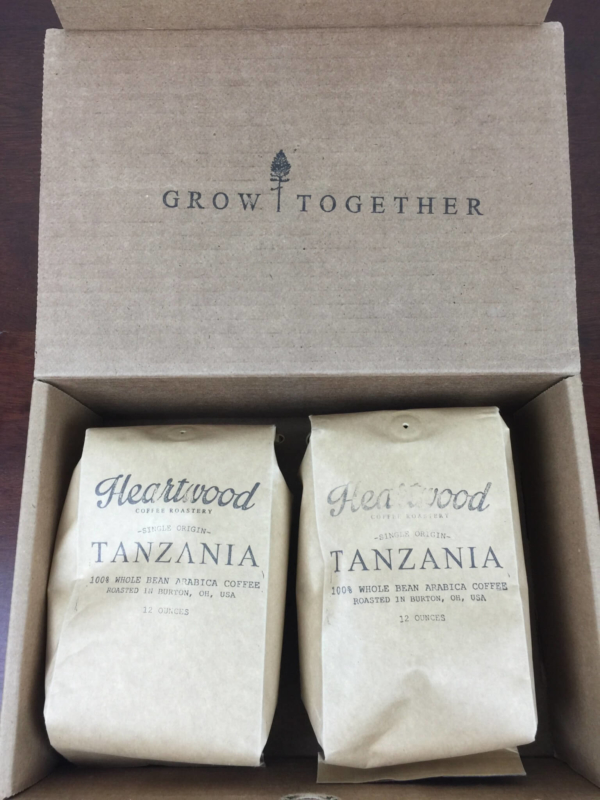 Heartwood Coffee Club July 2016 unboxing