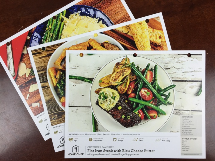 Home Chef Box June 2016 (1)