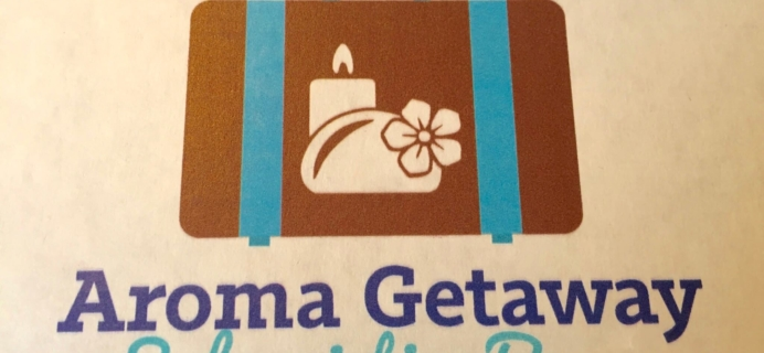 Aroma Getaway July 2016 Subscription Box Review + Coupon!