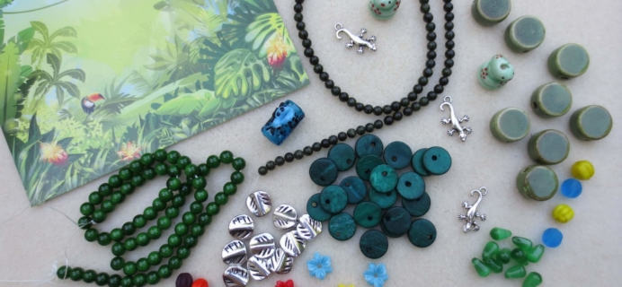 Blueberry Cove Beads Subscription Box Review – July 2016