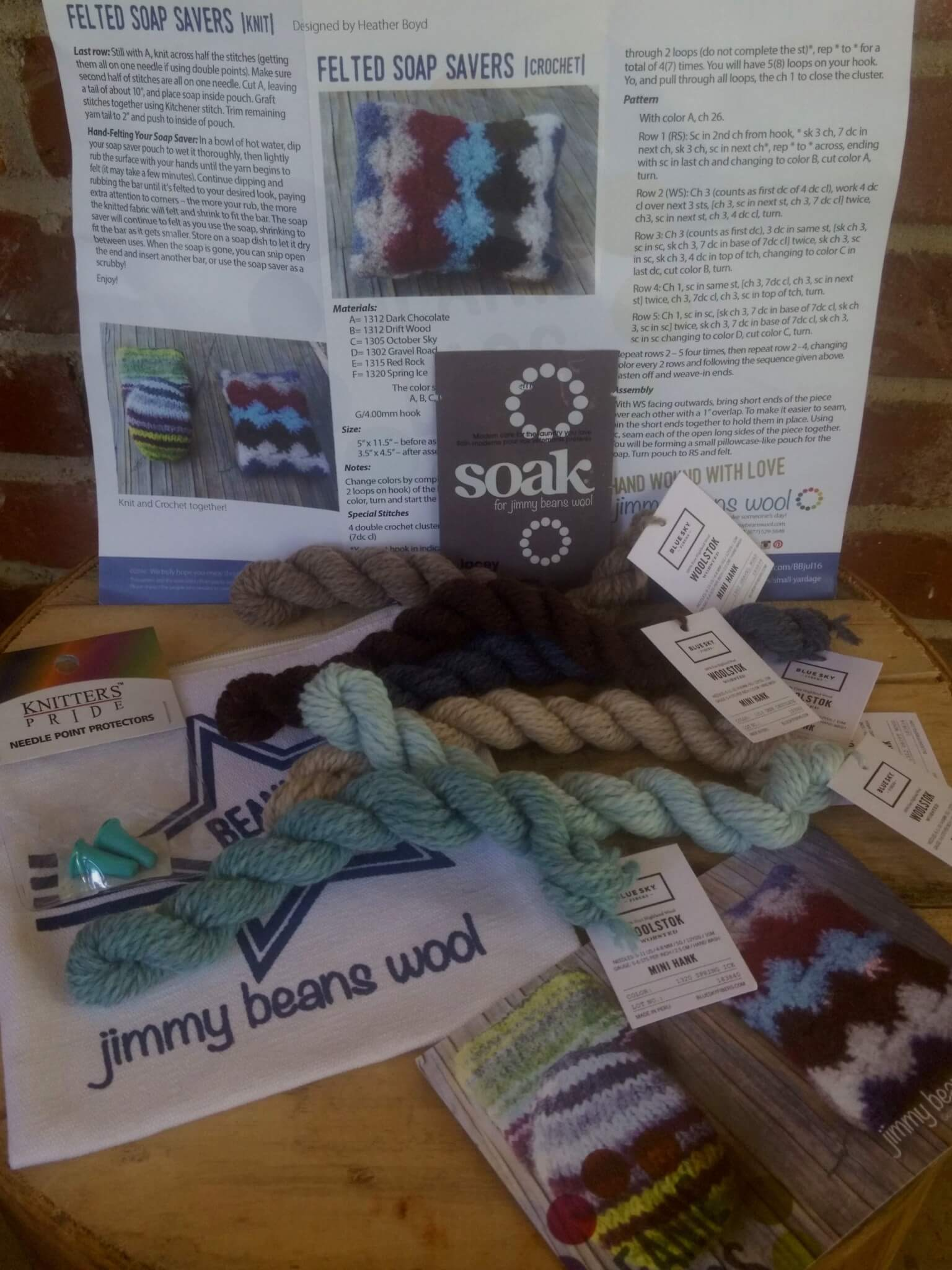 Jimmy Beans Wool Beanie Bag Subscription Review – July 2016