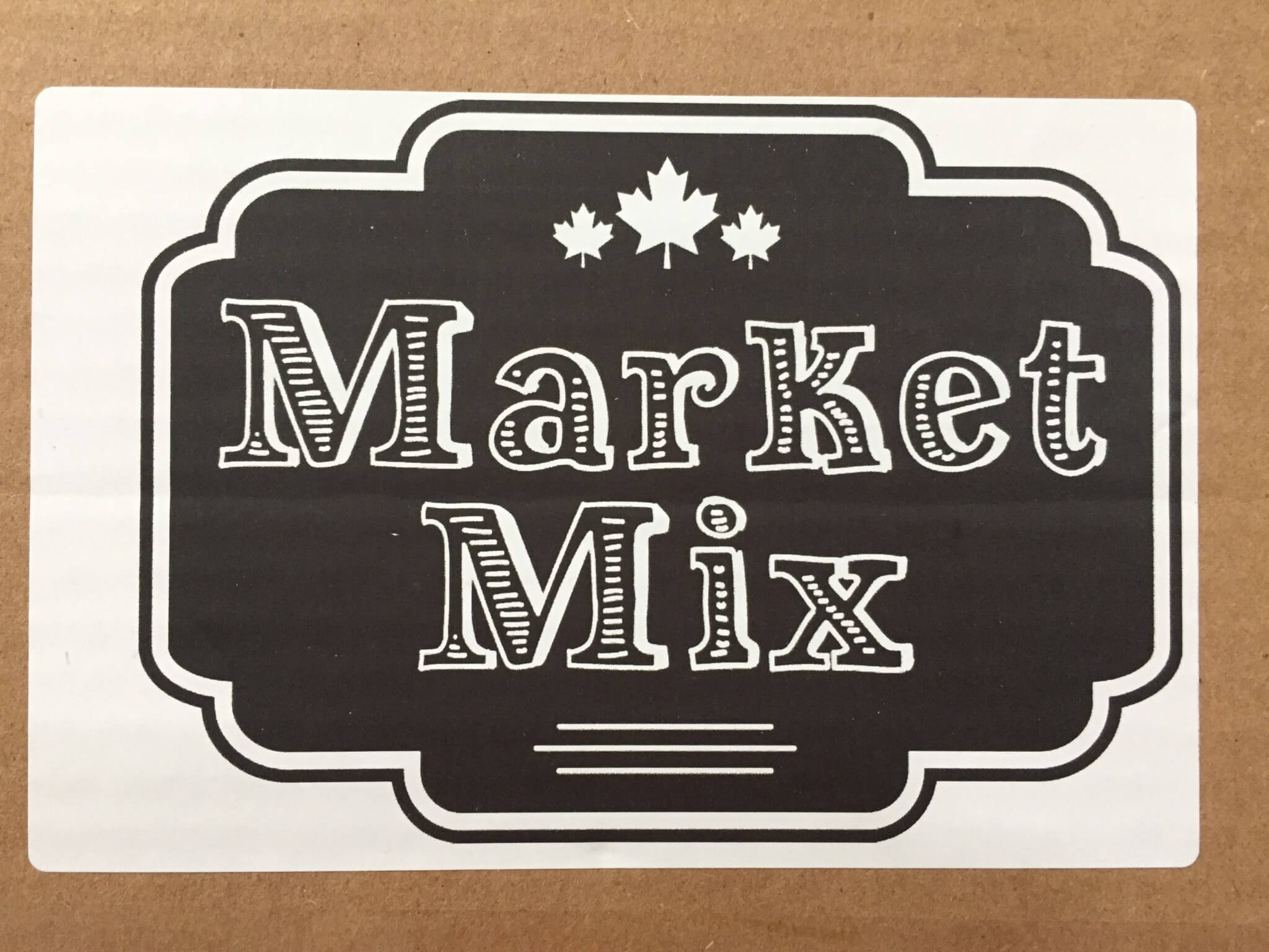 Market Mix July 2016 Subscription Box Review + Coupon