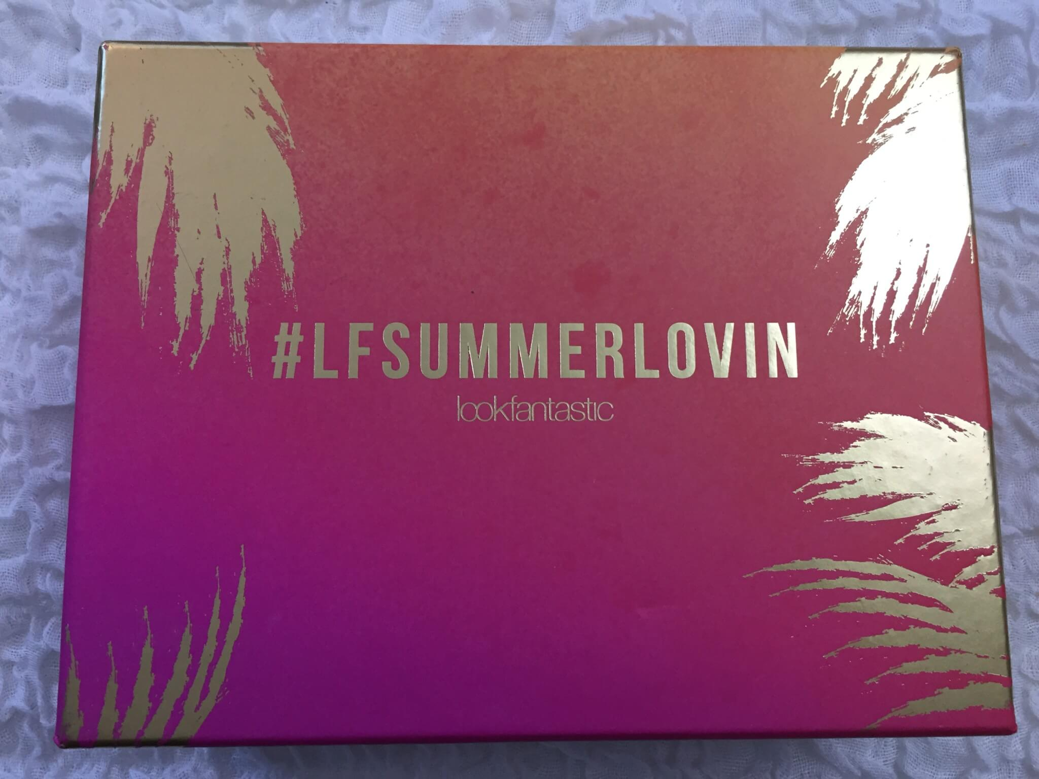 Look Fantastic July 2016 Subscription Box Review