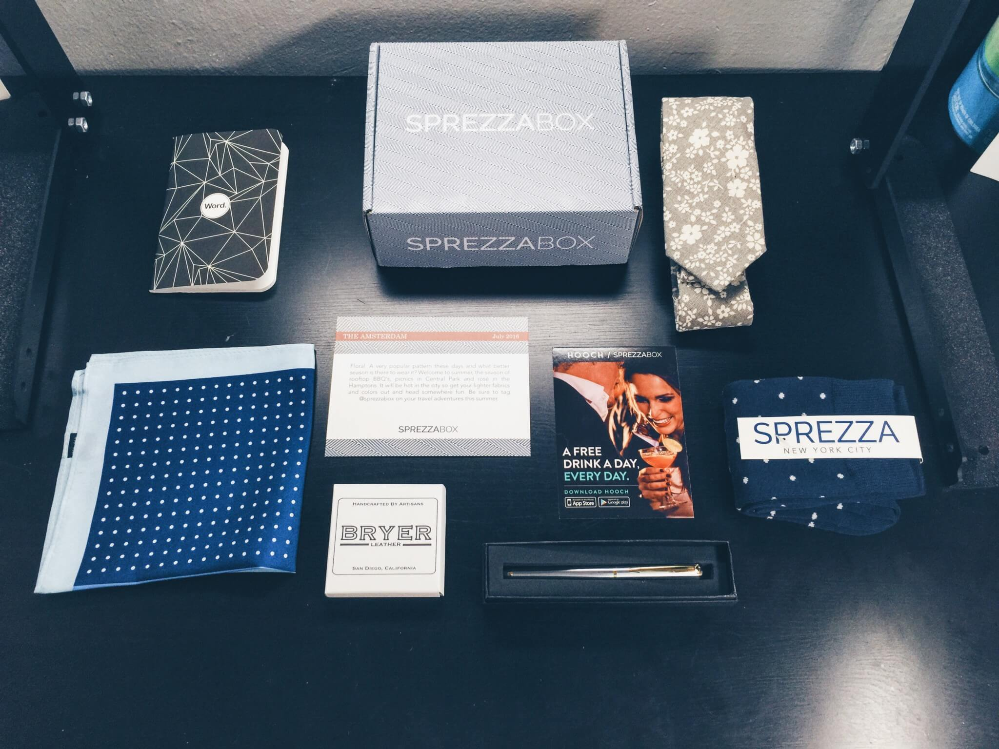 SprezzaBox Subscription Box Review + Coupon – July 2016