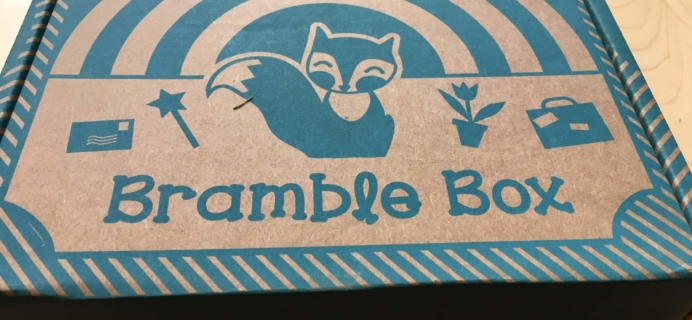 Bramble Box June 2016 Subscription Box Review + Coupon