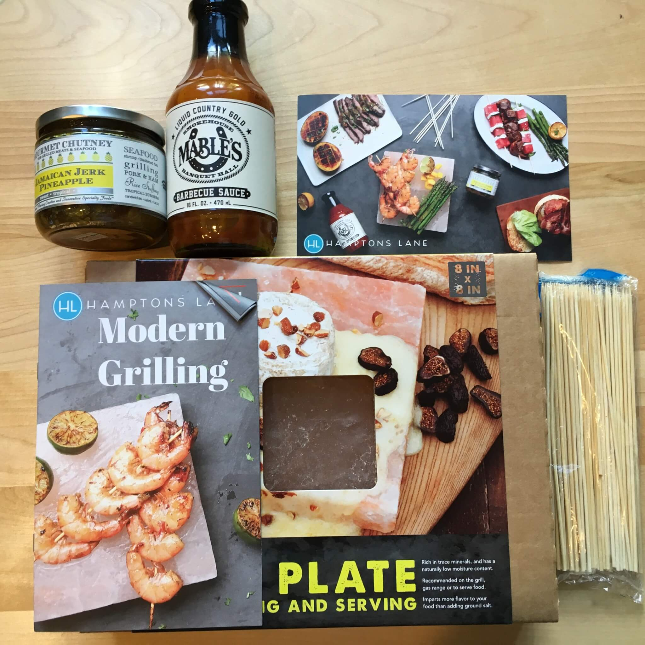 Hamptons Lane Subscription Box Review & Coupon – July 2016 Modern Grilling Box