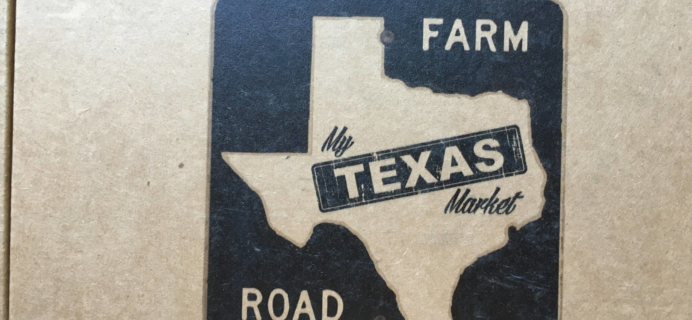 My Texas Market July 2016 Subscription Box Review & Coupon