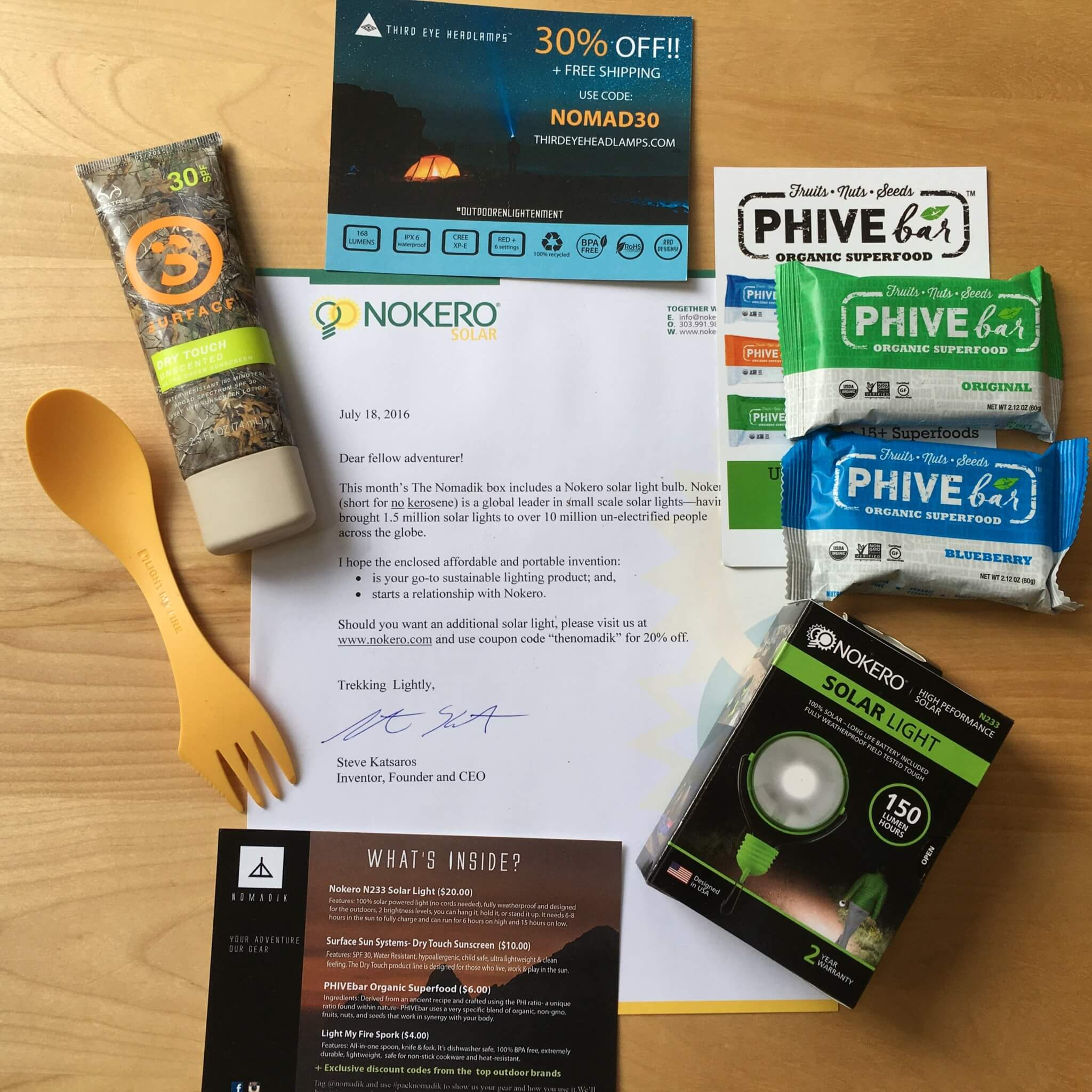 Nomadik July 2016 Subscription Box Review + Coupon