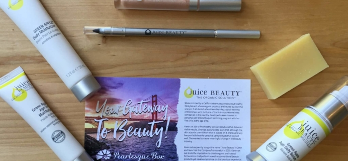 Pearlesque Box August 2016 Subscription Box Review + Coupon