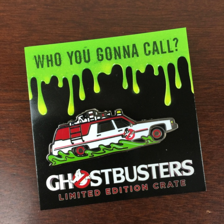 Loot Crate GHOSTBUSTERS Limited Edition Box July 2016 (1)