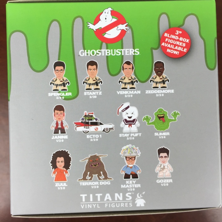 Loot Crate GHOSTBUSTERS Limited Edition Box July 2016 (7)