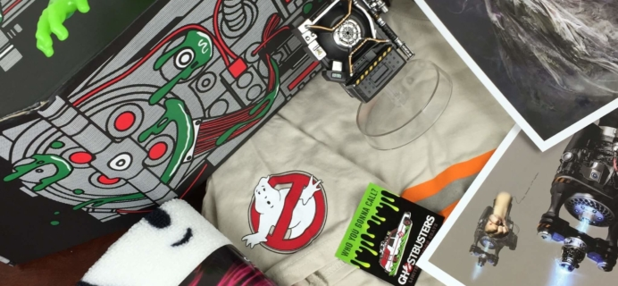 Loot Crate GHOSTBUSTERS Limited Edition Crate Review