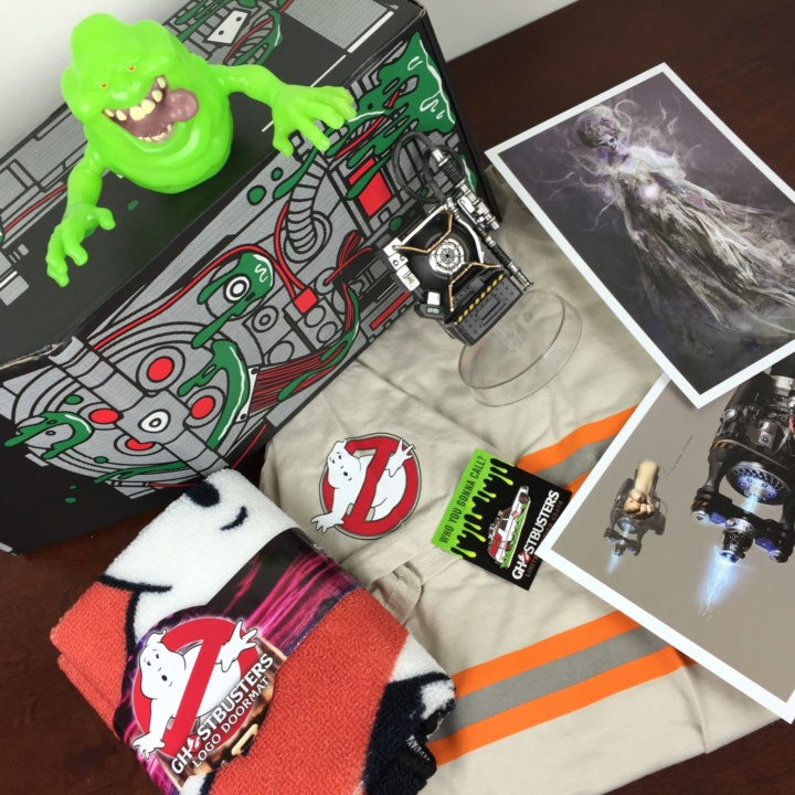 Loot Crate GHOSTBUSTERS Limited Edition Box July 2016 review