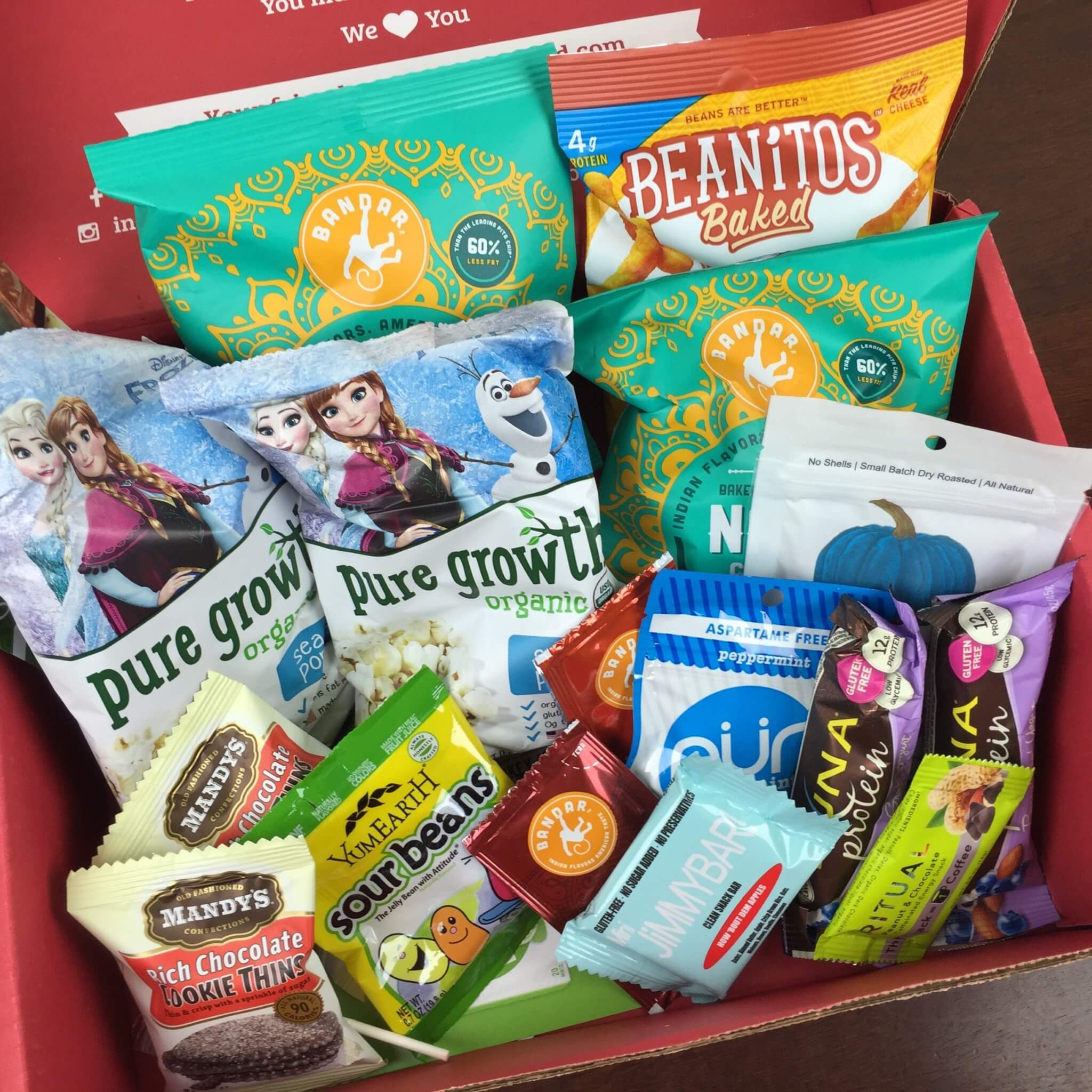 Love With Food July 2016 Deluxe Box Review + Coupon