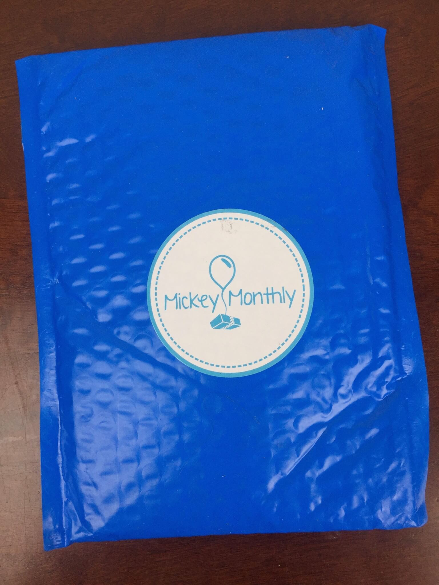 Mickey Monthly Pin Edition Subscription Box Review – July 2016