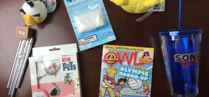 Nerd Block Jr. Girls Subscription Box Review & Coupon – July 2016