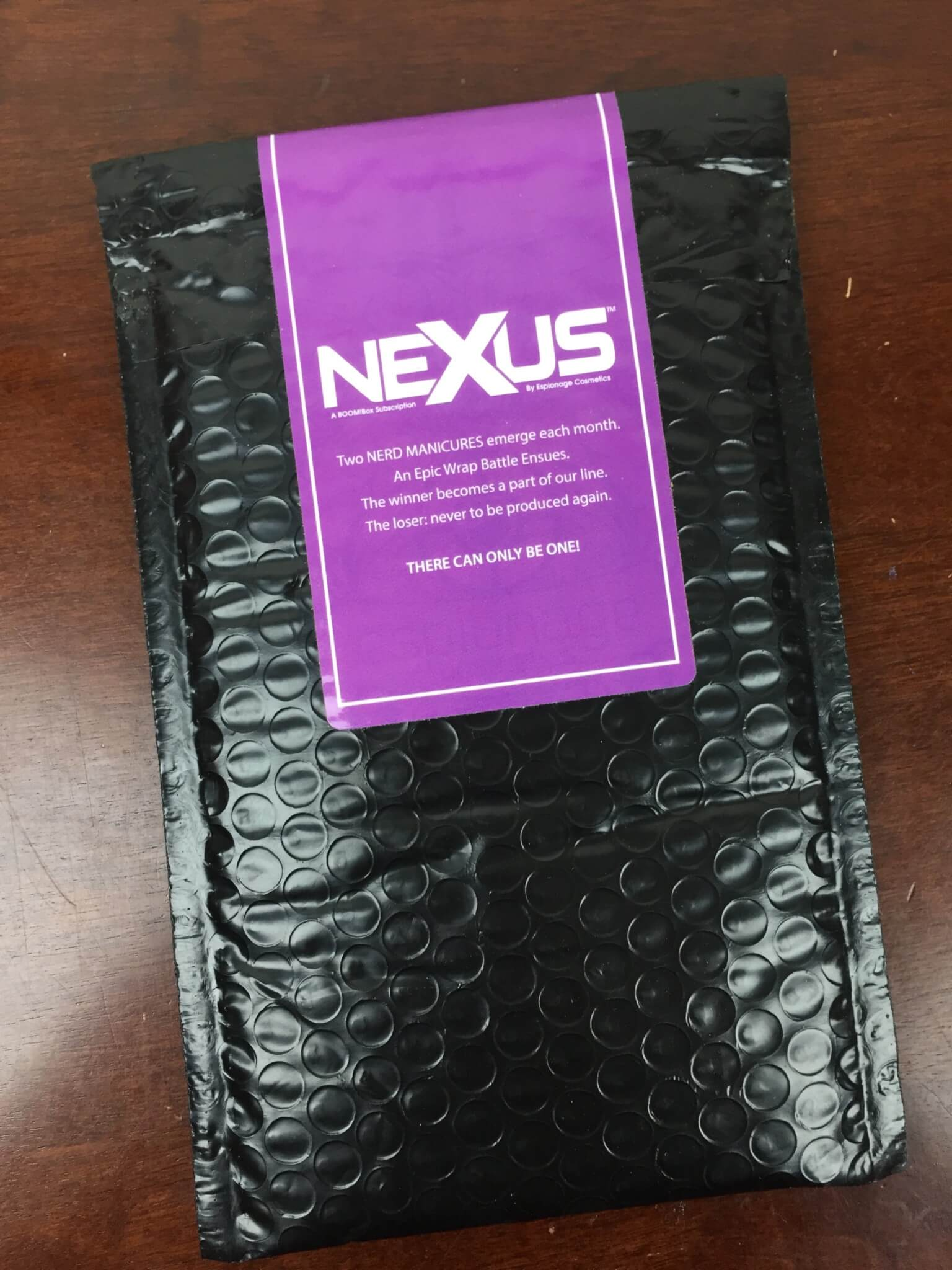 Nexus by Espionage Cosmetics July 2016 Subscription Box Review