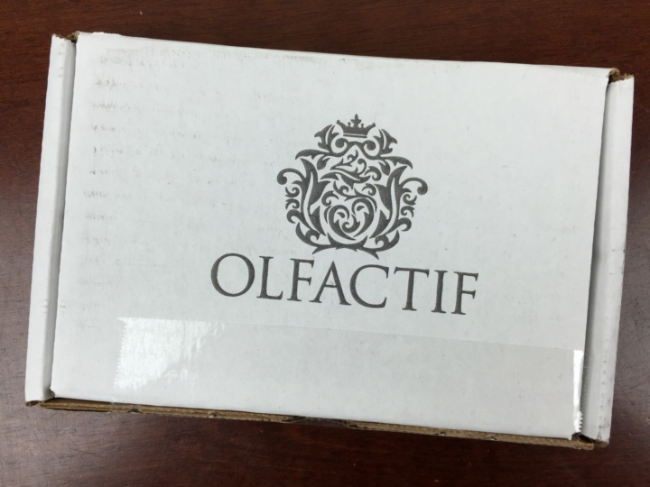 Olfactif Men June 2016 box