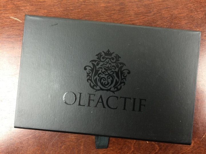 Olfactif Men June 2016 unboxing