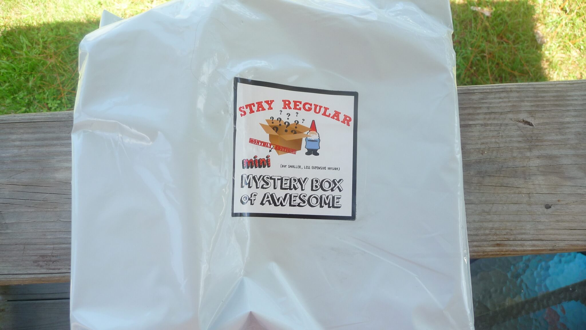 September 2016 Mini Monthly Mystery Box of Awesome Subscription Box Review