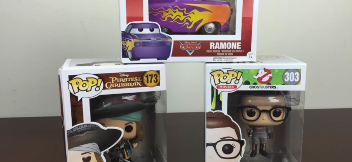Pop In A Box July 2016 Funko Subscription Box Review & Coupon