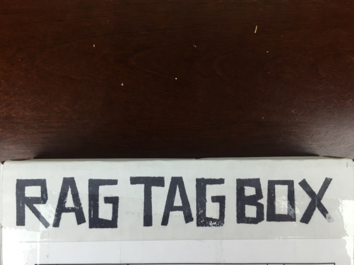 Rag Tag Box July 2016 Box