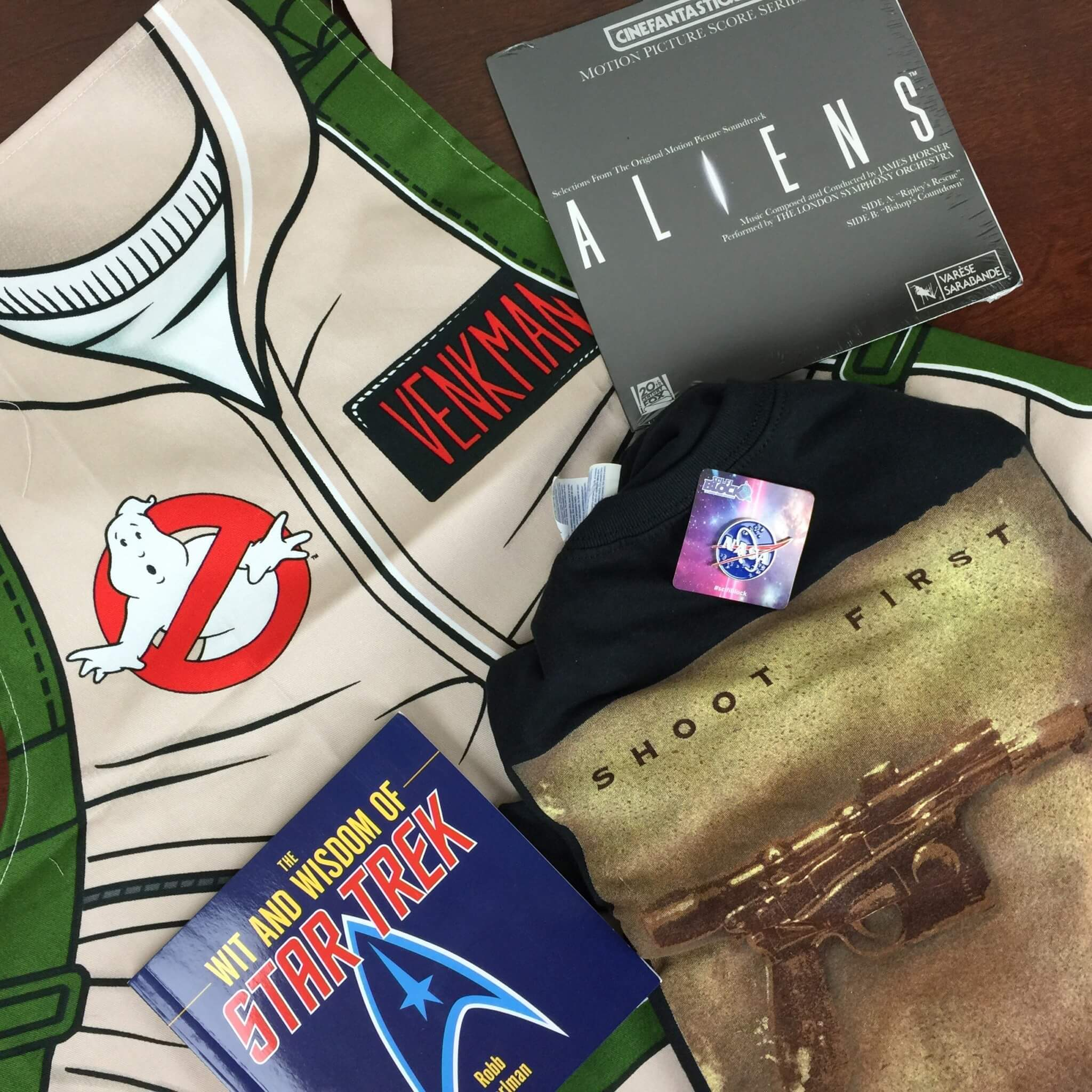 Sci-Fi Block July 2016 Subscription Box Review + Coupon