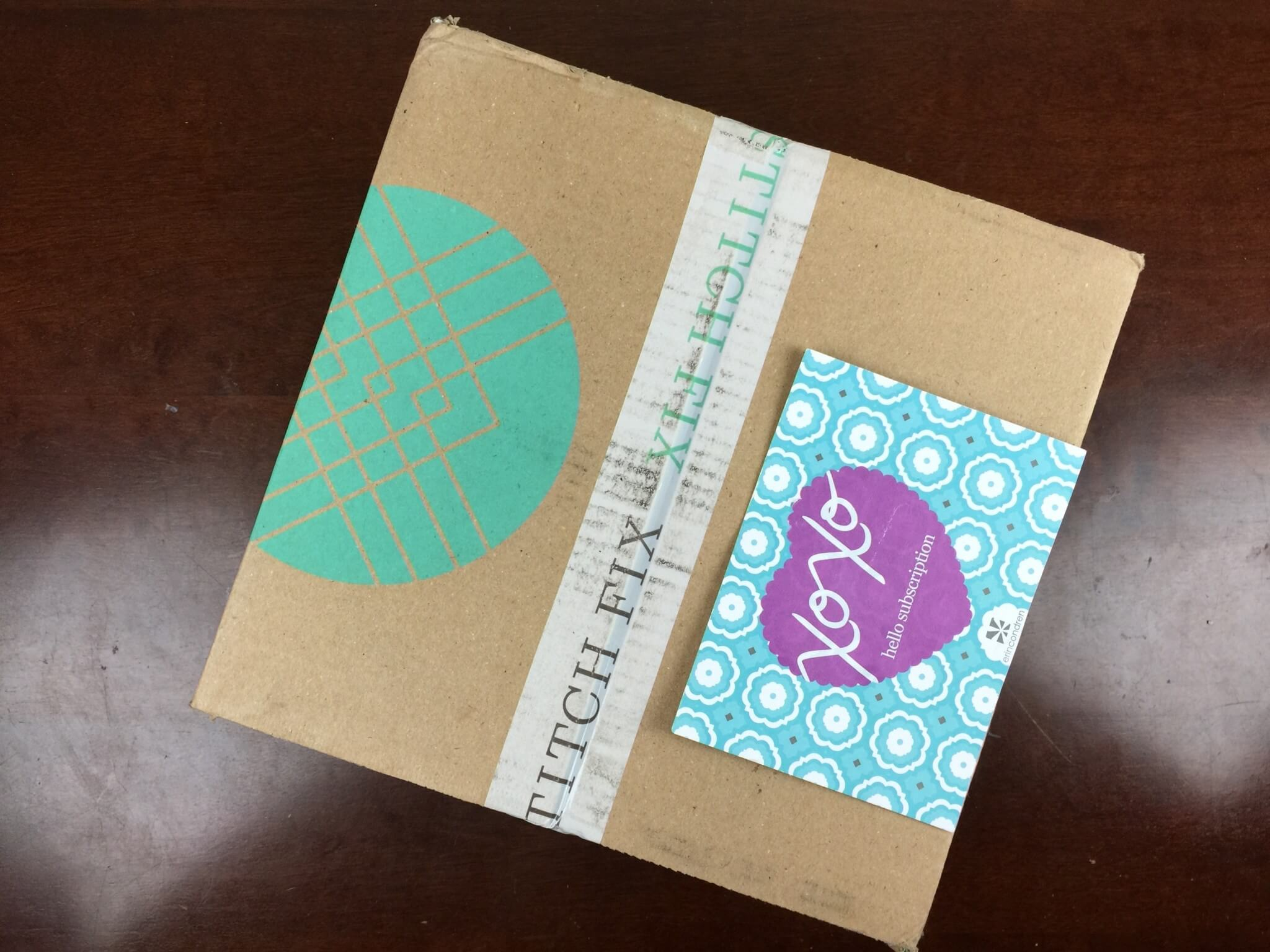 Stitch Fix Box August 2016 box