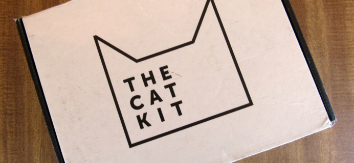 The Cat Kit Subscription Box Review + Coupon – November 2016