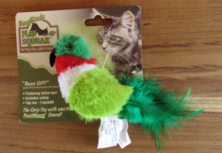 Play-N-Squeak Interactive Bird Toy