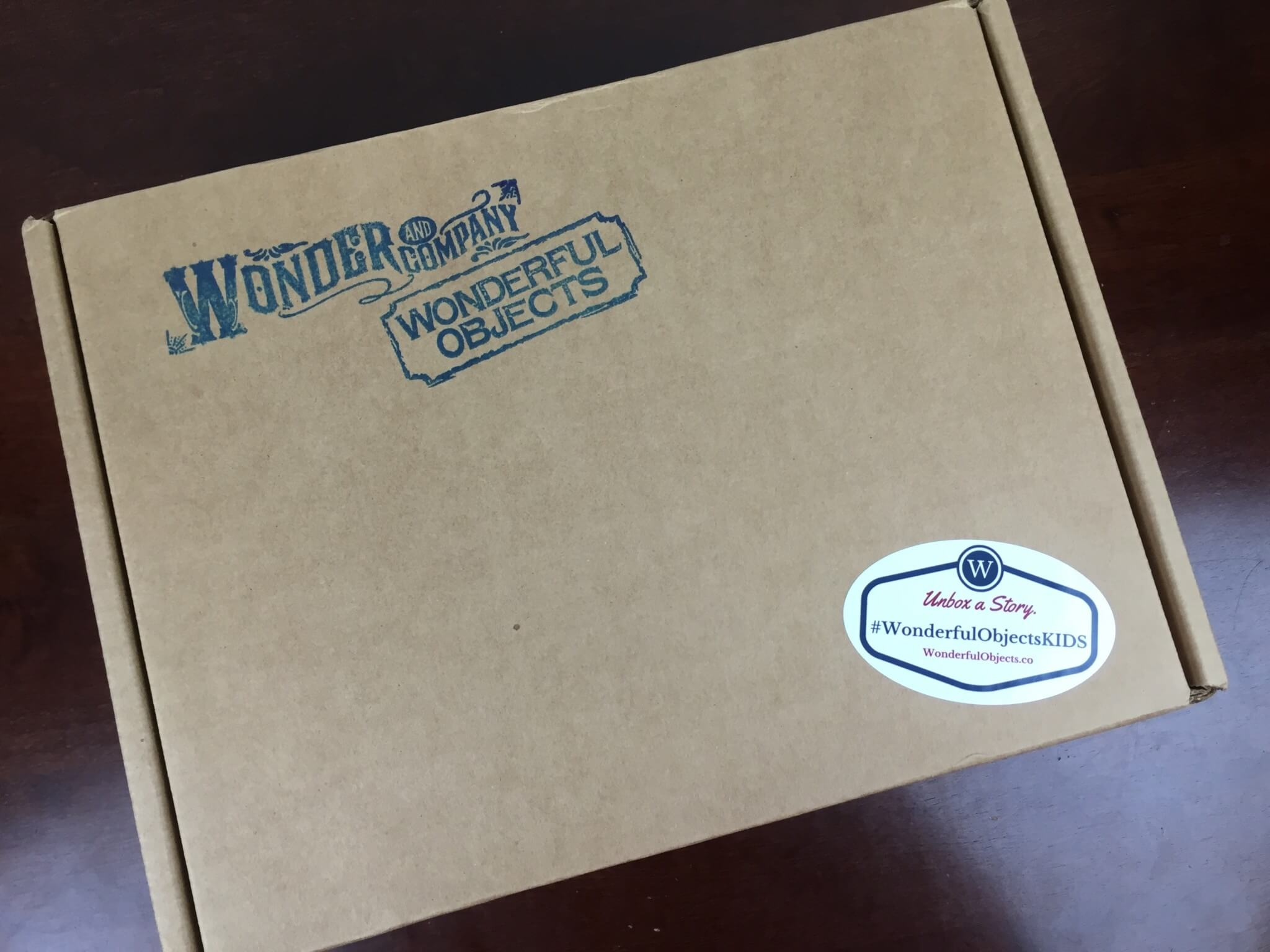 Wonderful Objects Kids Box by Wonder and Co Summer 2016 box